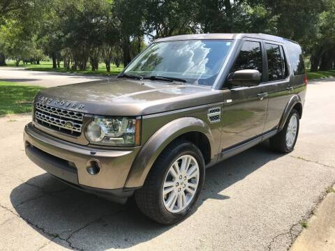 2010 Land Rover LR4 for sale at ROADHOUSE AUTO SALES INC. in Tampa FL