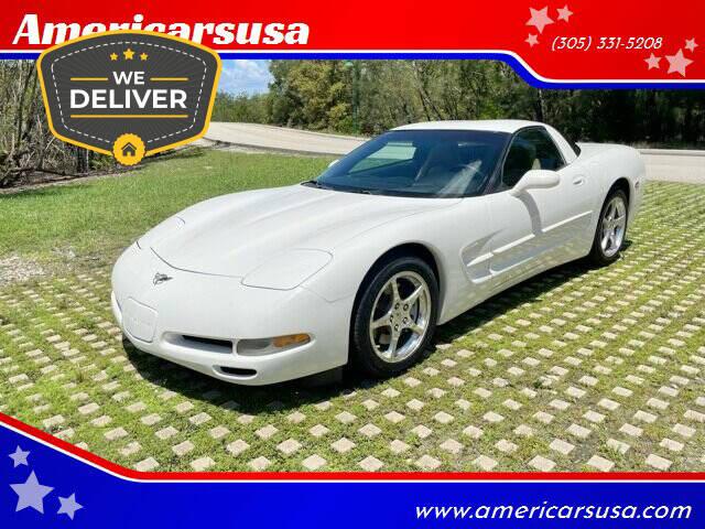 2003 Chevrolet Corvette for sale at Americarsusa in Hollywood FL