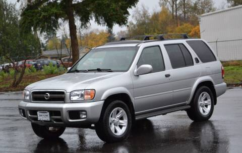 2003 Nissan Pathfinder for sale at Skyline Motors Auto Sales in Tacoma WA