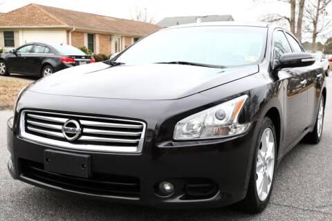 2013 Nissan Maxima for sale at Prime Auto Sales LLC in Virginia Beach VA