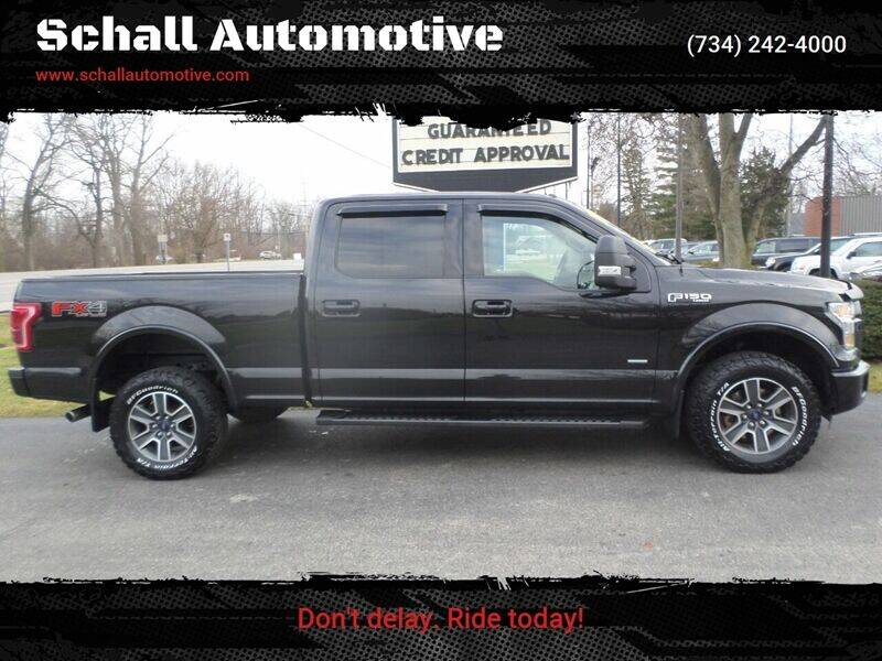 2015 Ford F-150 for sale at Schall Automotive in Monroe MI