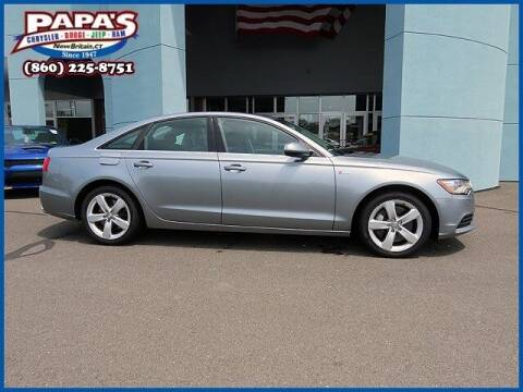 2012 Audi A6 for sale at Papas Chrysler Dodge Jeep Ram in New Britain CT