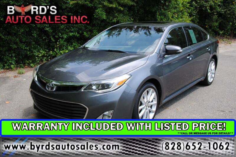 2013 Toyota Avalon for sale at Byrds Auto Sales in Marion NC