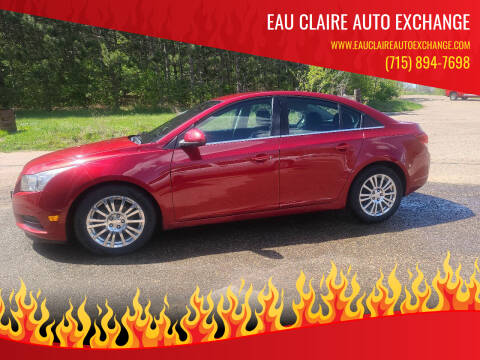 2012 Chevrolet Cruze for sale at Eau Claire Auto Exchange in Elk Mound WI