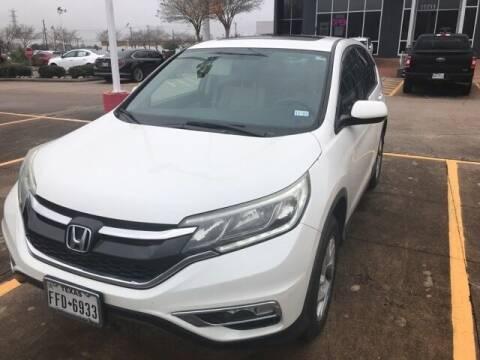 2015 Honda CR-V for sale at FREDY KIA USED CARS in Houston TX