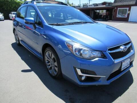2015 Subaru Impreza for sale at Tonys Toys and Trucks in Santa Rosa CA
