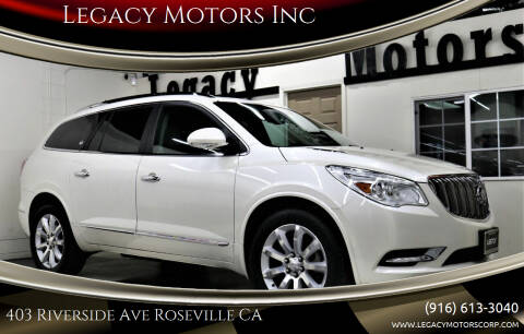 2015 Buick Enclave for sale at Legacy Motors Inc in Roseville CA