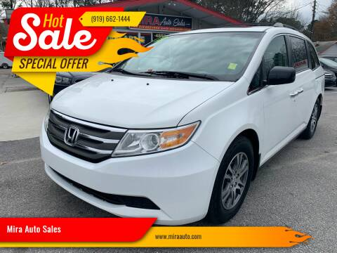 2011 Honda Odyssey for sale at Mira Auto Sales in Raleigh NC