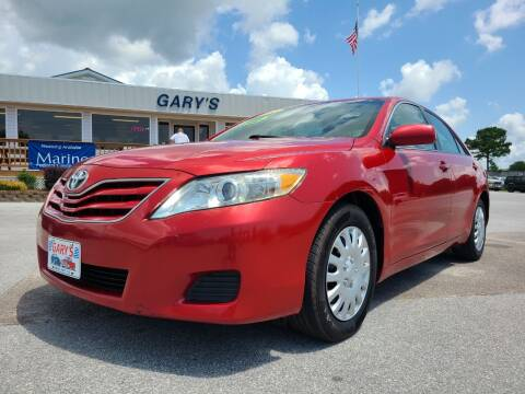 2010 Toyota Camry for sale at Gary's Auto Sales in Sneads Ferry NC
