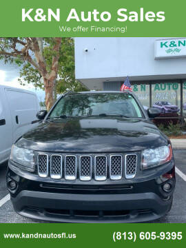 2014 Jeep Compass for sale at K&N Auto Sales in Tampa FL