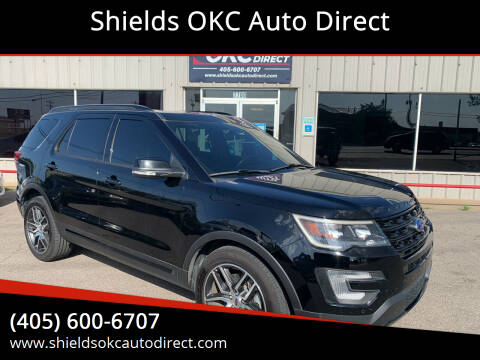 2017 Ford Explorer for sale at Shields OKC Auto Direct in Oklahoma City OK