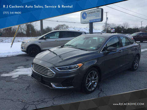 2019 Ford Fusion for sale at R J Cackovic Auto Sales, Service & Rental in Harrisburg PA