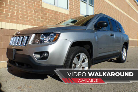 2014 Jeep Compass for sale at Macomb Automotive Group in New Haven MI