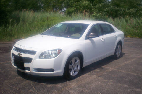 2010 Chevrolet Malibu for sale at Action Auto Wholesale - 30521 Euclid Ave. in Willowick OH