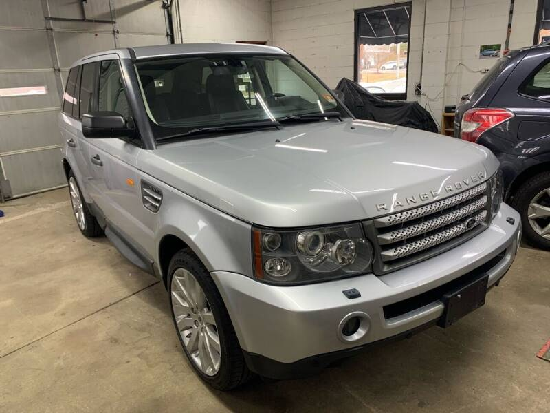 2007 Land Rover Range Rover Sport for sale at QUINN'S AUTOMOTIVE in Leominster MA