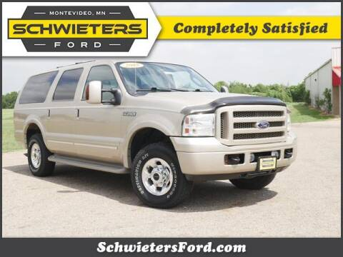 2005 Ford Excursion for sale at Schwieters Ford of Montevideo in Montevideo MN