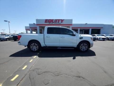 2017 Nissan Titan for sale at EQUITY AUTO CENTER in Phoenix AZ