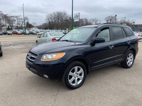 2009 Hyundai Santa Fe for sale at Peak Motors in Loves Park IL
