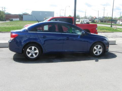 2012 Chevrolet Cruze for sale at MCQUISTON MOTORS in Wyandotte MI