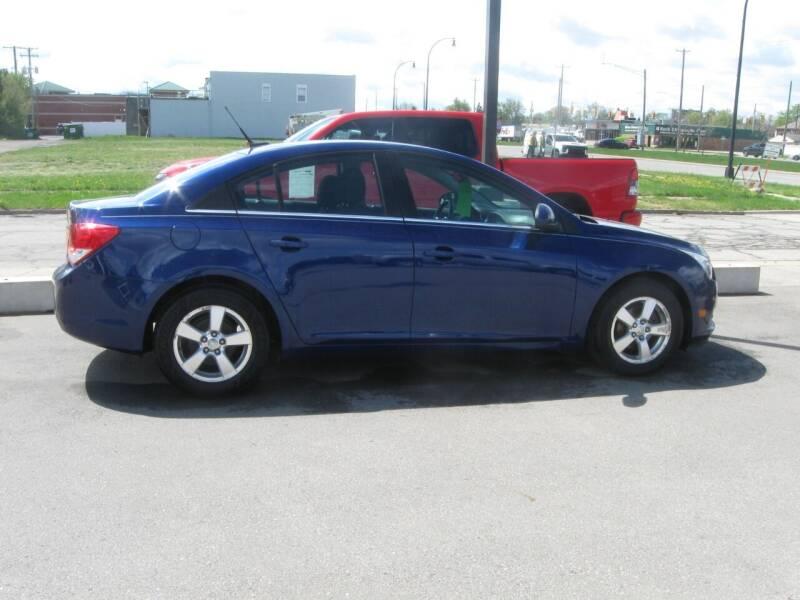 2012 Chevrolet Cruze for sale at MCQUISTON MOTORS in Wyandotte MI