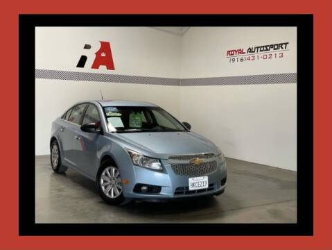 2011 Chevrolet Cruze for sale at Royal AutoSport in Sacramento CA