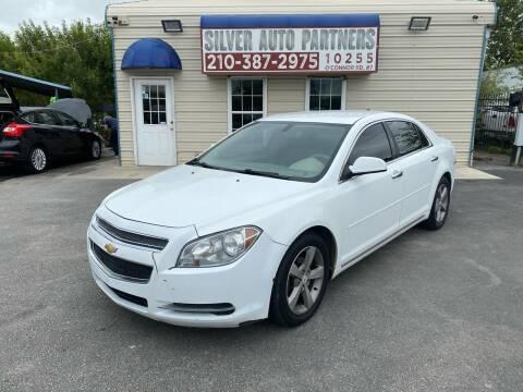2012 Chevrolet Malibu for sale at Silver Auto Partners in San Antonio TX