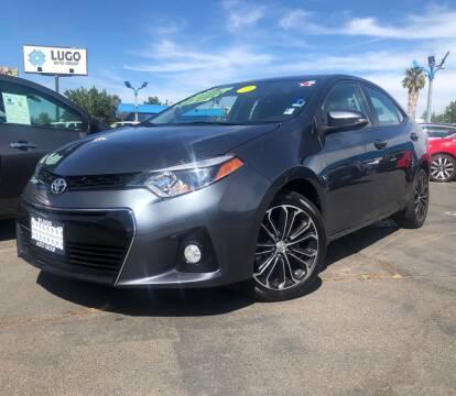 2016 Toyota Corolla for sale at LUGO AUTO GROUP in Sacramento CA