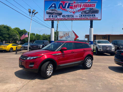 2015 Land Rover Range Rover Evoque for sale at ANF AUTO FINANCE in Houston TX