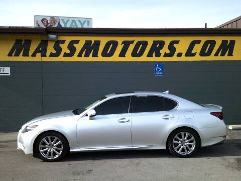 2013 Lexus GS 350 for sale at M.A.S.S. Motors - Fairview in Boise ID