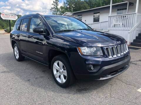 2014 Jeep Compass for sale at CVC AUTO SALES in Durham NC