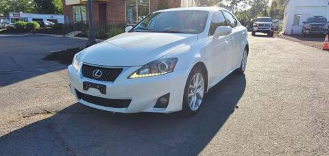 2012 Lexus IS 250 for sale at Russo's Auto Exchange LLC in Enfield CT