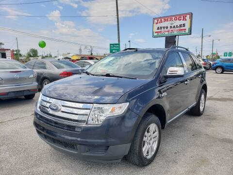 2008 Ford Edge for sale at Jamrock Auto Sales of Panama City in Panama City FL