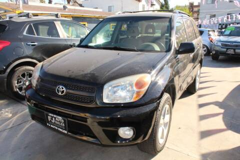 2004 Toyota RAV4 for sale at FJ Auto Sales in North Hollywood CA