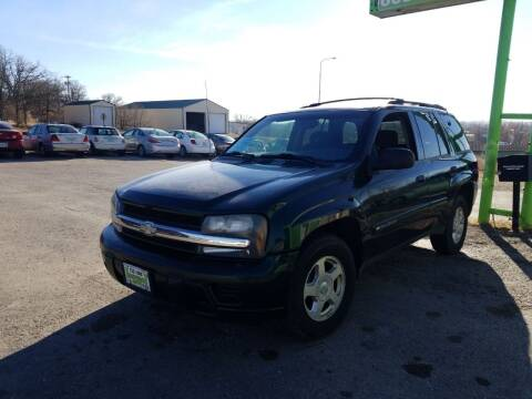 2002 Chevrolet TrailBlazer for sale at Independent Auto in Belle Fourche SD