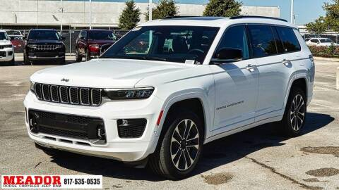 2021 Jeep Grand Cherokee L for sale at Meador Dodge Chrysler Jeep RAM in Fort Worth TX