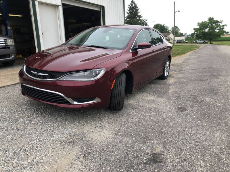 2015 Chrysler 200 for sale at Purpose Driven Motors in Sidney OH