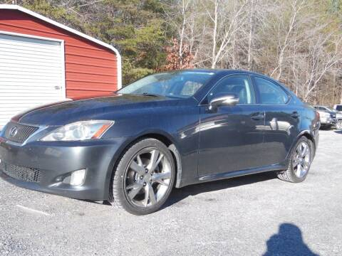 2009 Lexus IS 250 for sale at Williams Auto & Truck Sales in Cherryville NC