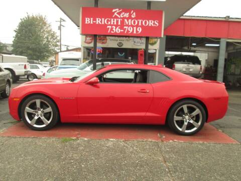 2012 Chevrolet Camaro for sale at Bi Right Motors in Centralia WA