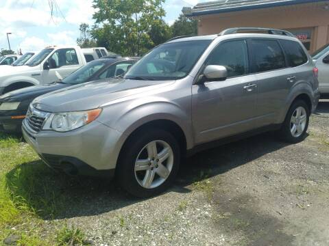 2010 Subaru Forester for sale at Jan Auto Sales LLC in Parsippany NJ