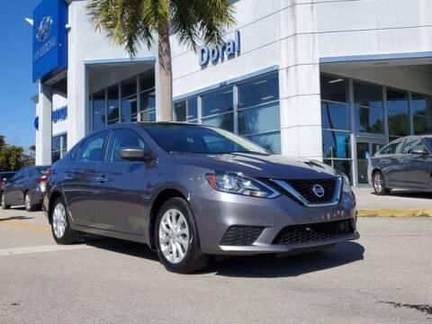 2018 Nissan Sentra for sale at DORAL HYUNDAI in Doral FL