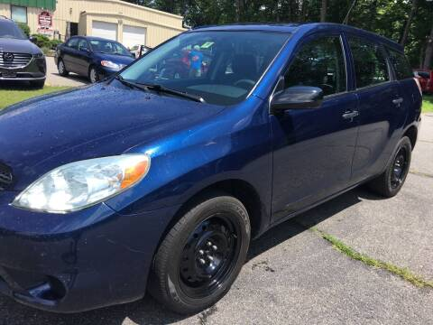 2006 Toyota Matrix for sale at BRATTLEBORO AUTO SALES in Brattleboro VT