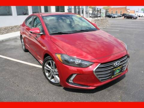 2017 Hyundai Elantra for sale at AUTO POINT USED CARS in Rosedale MD