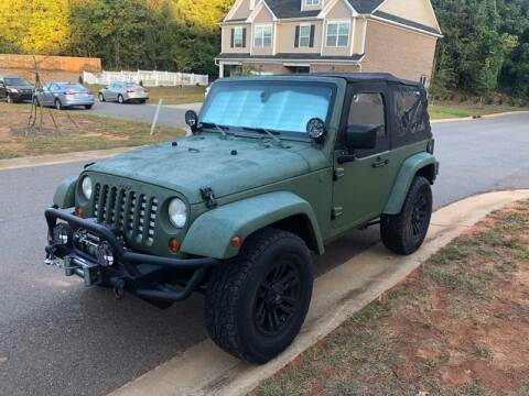 2007 Jeep Wrangler for sale at LINDER'S AUTO SALES in Gastonia NC