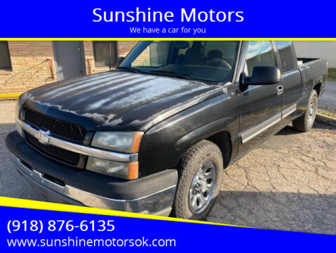 2004 Chevrolet Silverado 1500 for sale at Sunshine Motors in Bartlesville OK