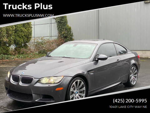 2008 BMW M3 for sale at Trucks Plus in Seattle WA