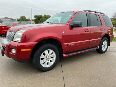 2007 Mercury Mountaineer for sale at QUAD CITIES AUTO SALES in Milan IL