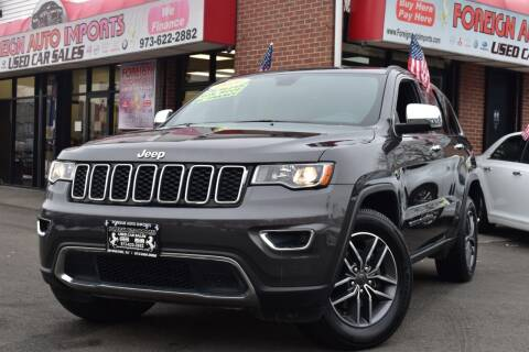2020 Jeep Grand Cherokee for sale at Foreign Auto Imports in Irvington NJ