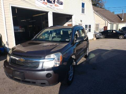 2008 Chevrolet Equinox for sale at E & K Automotive in Derry NH