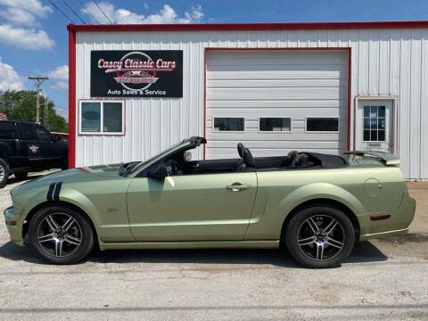 2005 Ford Mustang for sale at Casey Classic Cars in Casey IL