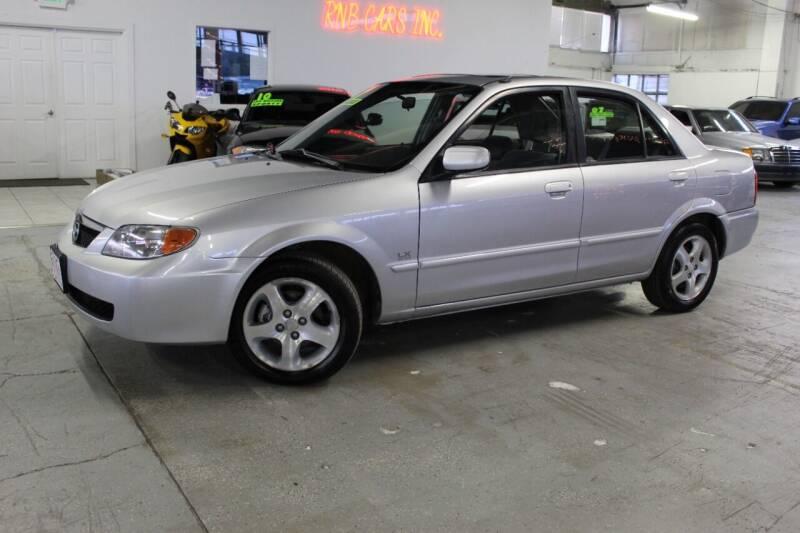 2001 Mazda Protege for sale at R n B Cars Inc. in Denver CO